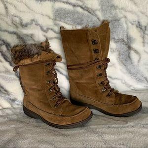 Sam Edelman Lace Up Boots 9.5